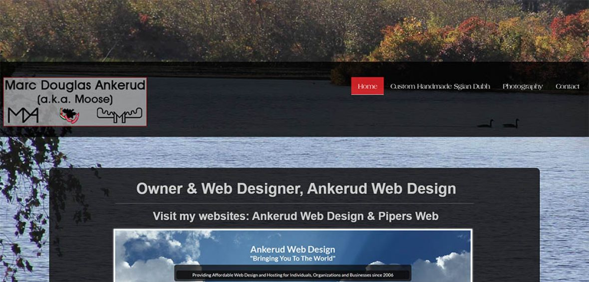 Marc D. Ankerud - Owner, Designer at Ankerud Web Design